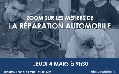 ZOOM SUR LES METIERS DE LA REPARATION AUTOMOBILE